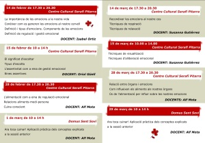Cronograma #SentHostalric1