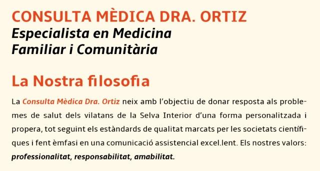 Consulta Médica Dra. Ortiz